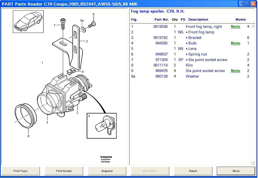 manuals for interchange for used car parts