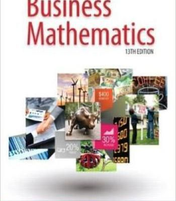 college mathematics for business 13th edition solution manual pdf