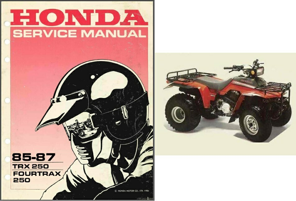 87 honda fourtrax 250 manual