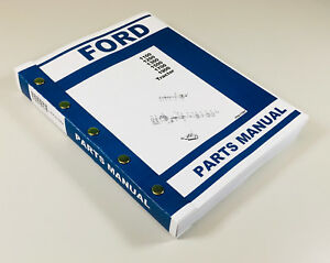 ford model 1100 tractor parts manual