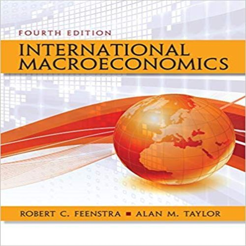 international trade fenstra taylor solutions manual