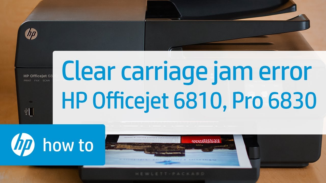 how to manually clean print heads on hp 6830