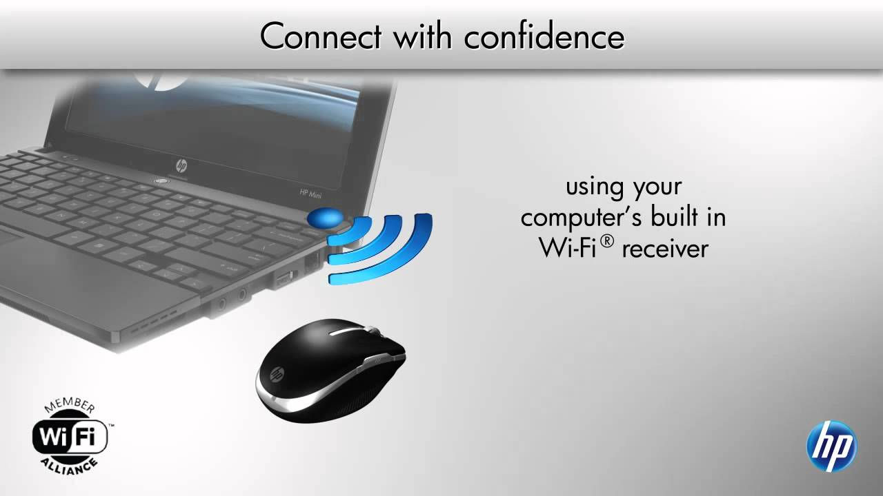 hp wifi mobile mouse manual