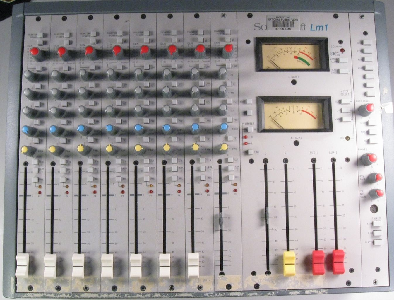 ross systems 8 x 2 mixing console manual